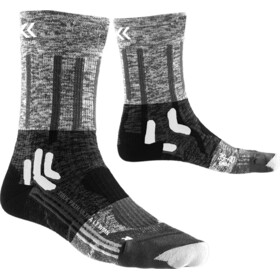 X-Socks Trek Path Ultra LT Calcetines Mujer, black/anthracite print